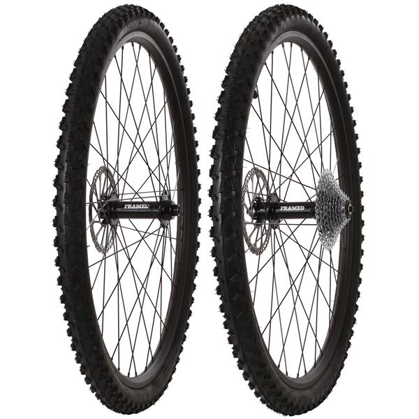 Framed Fattie Slims/Trail F150/R190 11 Speed Wheel Set