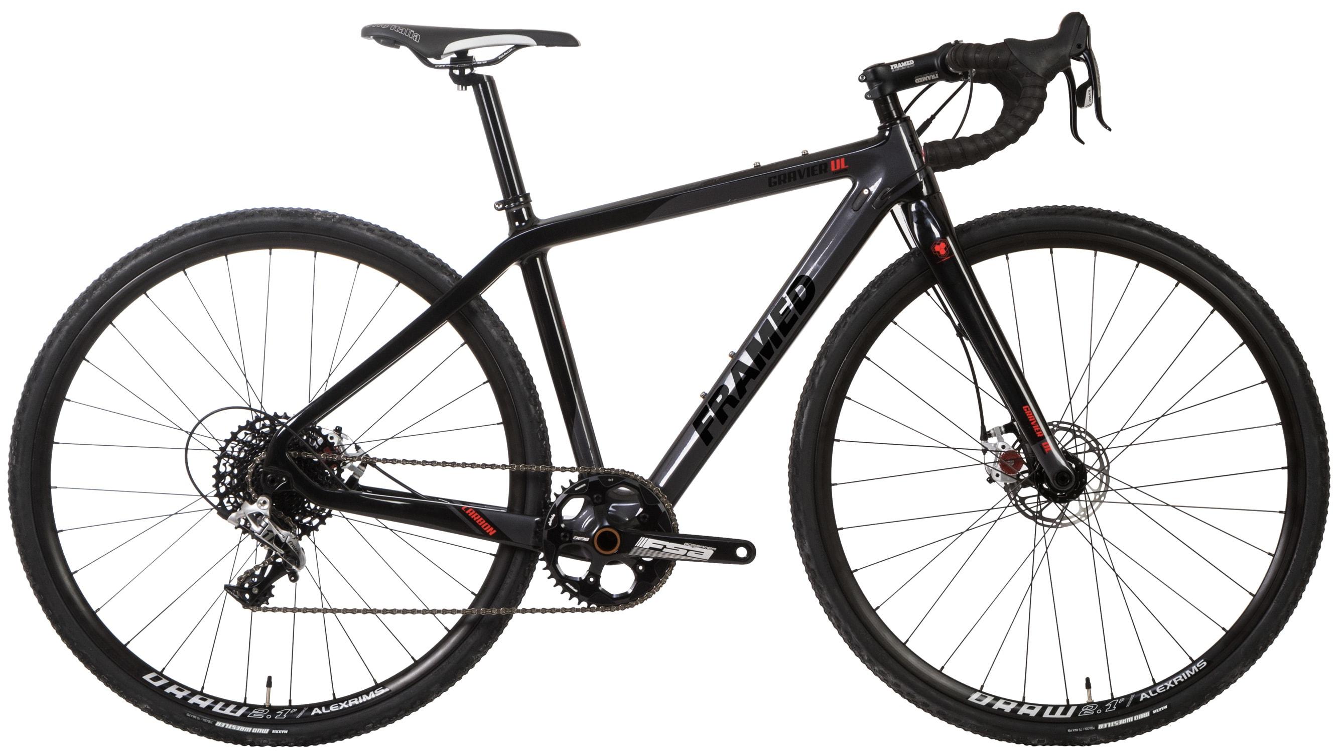 framed gravier carbon gravel road bike rival 1 and. Black Bedroom Furniture Sets. Home Design Ideas