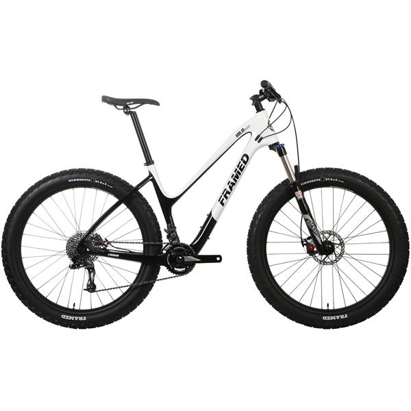 Framed Hilo Carbon Bike 27.5x3 - SRAM X9 1X10 Recon Fork & Alloy Wheels