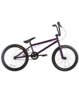Framed Impact Blank BMX Bike Dark Purple 20in/20.5in Top Tube