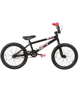 Framed Impact BMX Bike Black/Red 20in/20.5in Top Tube