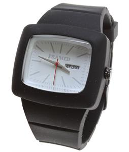 Framed Impact Watch Black/White