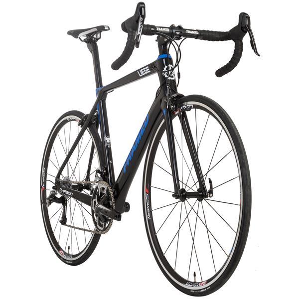 Framed Liege Carbon Road Bike - Rival 22 & Alloy Wheels