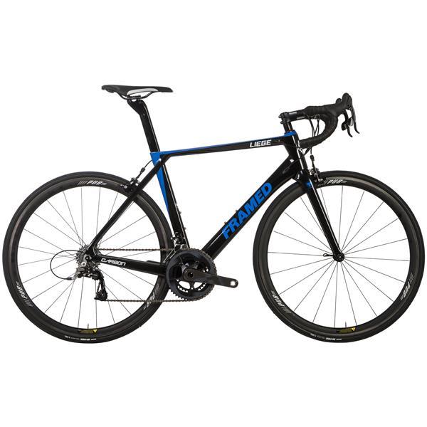 Framed Liege Carbon Road Bike - Rival 22 & Carbon Wheels
