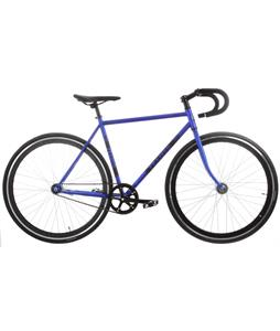 Framed Lifted Drop Bar Bike S/S Blue/Black 56cm