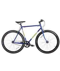 Framed Lifted Bike Blue/White/Yellow 56cm/22in