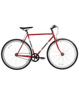 Framed Lifted Bike Red/White/Black 58cm/22.75in