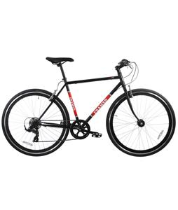 Framed Lifted Seven Bike Black/Red/White 56cm/22in