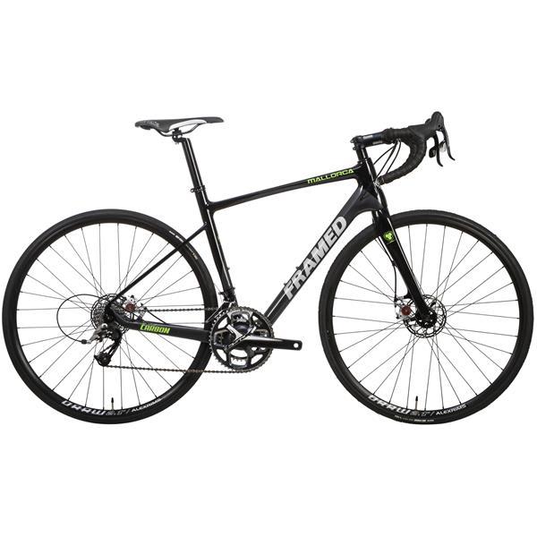 Framed Mallorca Disc Carbon Road Bike - Rival 22 & Alloy Wheels