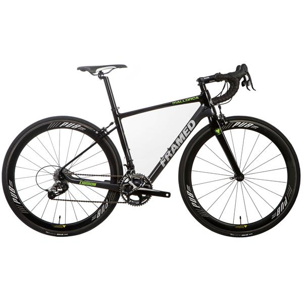 Framed Mallorca Rim Carbon Road Bike - Rival 22 & Carbon Wheels