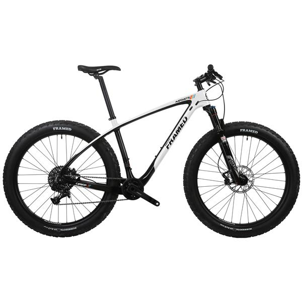 Framed Marquette Carbon Bike 27.5x3 - X7 Reba Fork
