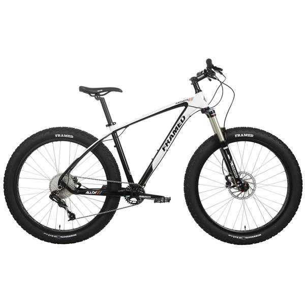 Framed Marquette Alloy Bike 27.5x3 - X7 Suntour Raidon Fork