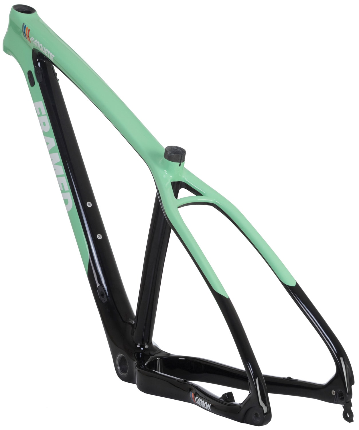 framed marquette carbon bike frame thumbnail 3