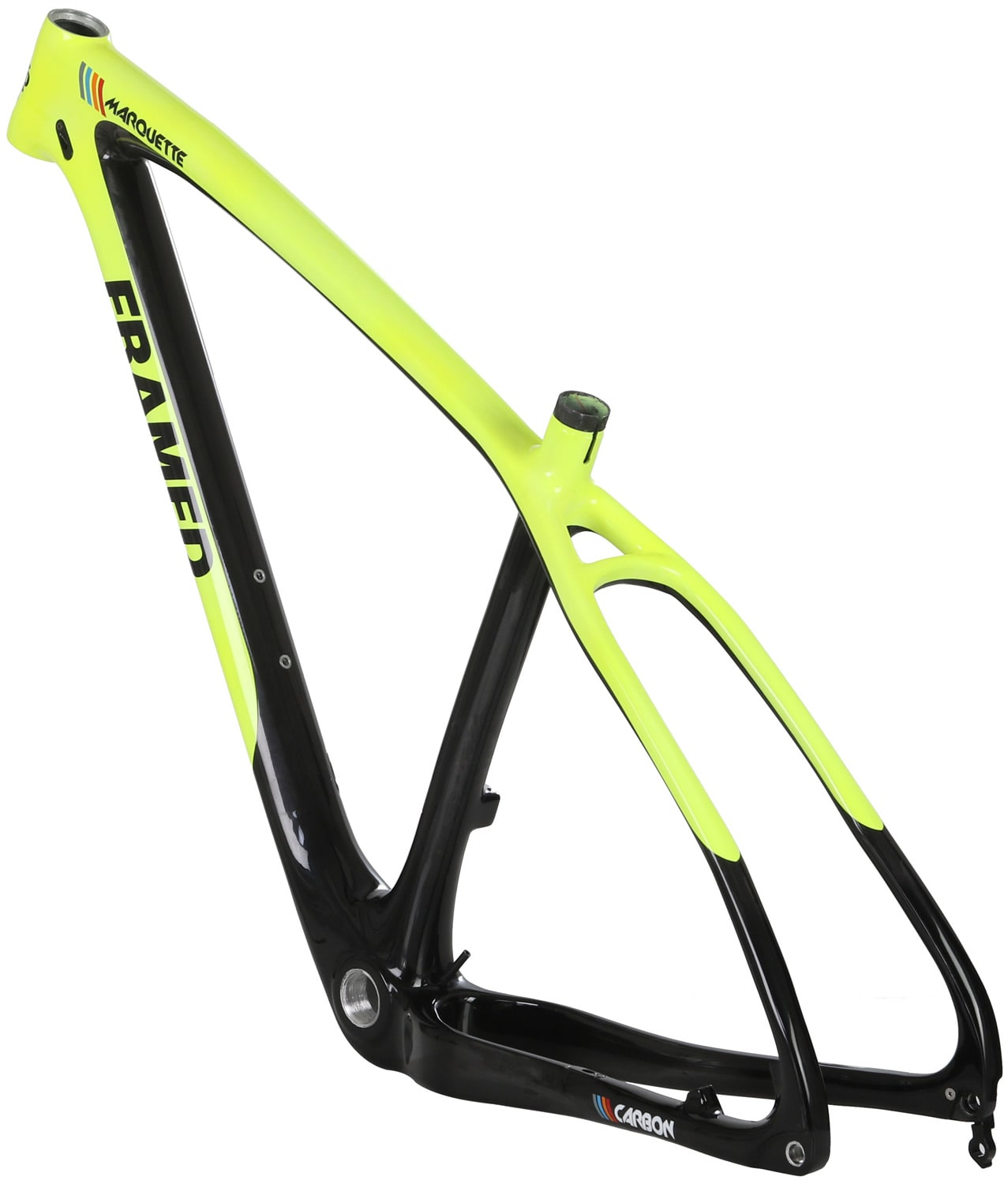 framed marquette carbon bike frame 2017