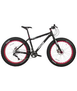Framed Minnesota 3.0 Fat Bike Black/Red 22in