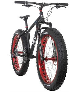Framed Minnesota 3.0 Fat Bike Black/Red 18in w/ Rockshox Bluto 100mm