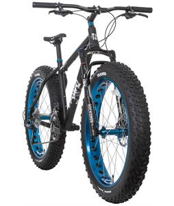 Framed Minnesota 3.0 Fat Bike Black/Blue w/ Rockshox Bluto 100mm