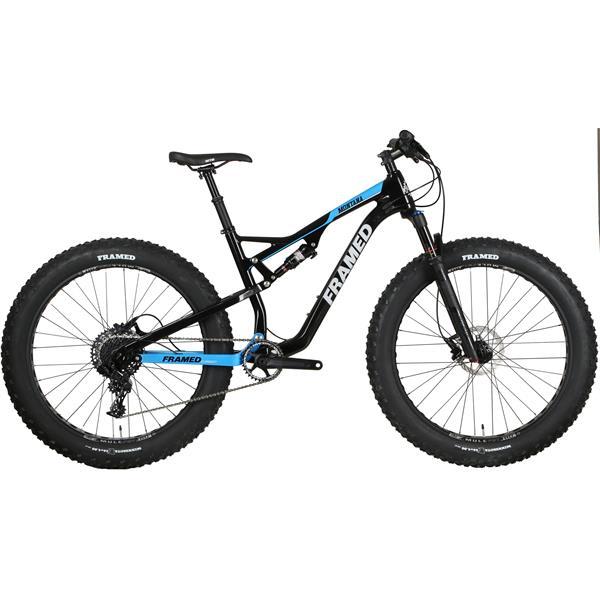 Framed Montana Carbon Full Suspension Fat Bike - SRAM X01 Eagle 1X12