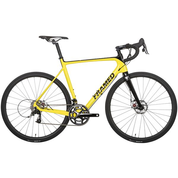 Framed Rodez Disc Carbon Road Bike - Rival 22 & Carbon Wheels