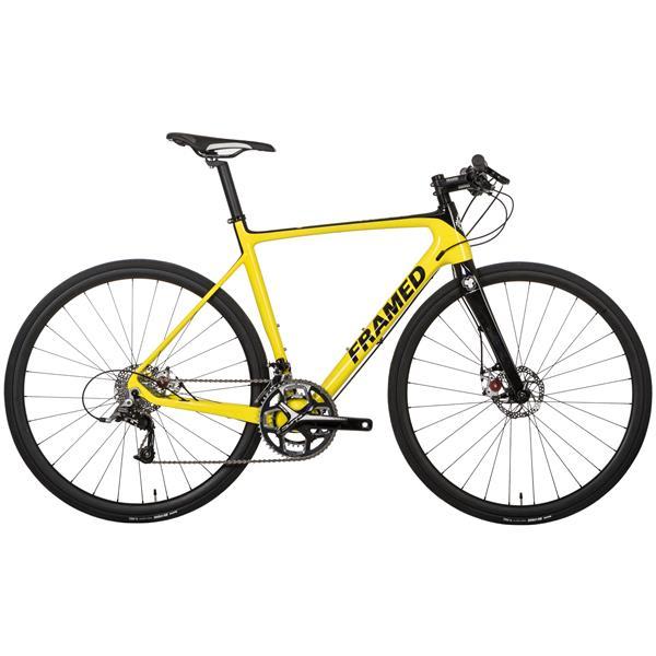 Framed Rodez Carbon Flat Bar Bike w/ Rival 22 & Carbon Wheels
