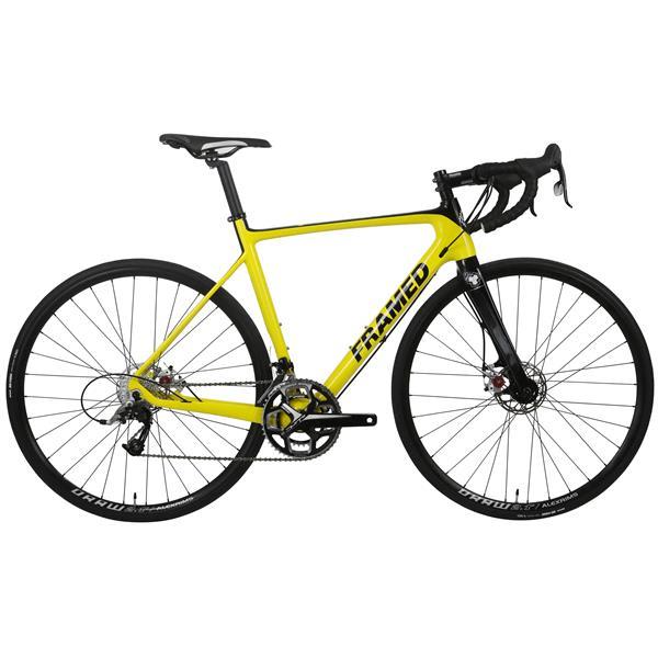 Framed Rodez Carbon Bike w/ Rival 22 & Alloy Wheels