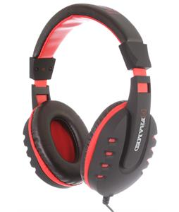 Framed Roundabout Headphones Black/Red/White