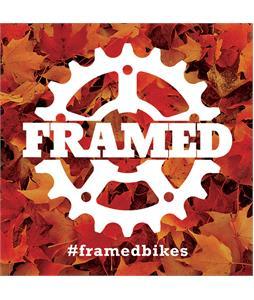 Framed Slap Sticker Fall 3X3in