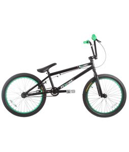 Framed Team BMX Bike Black/Green 20in