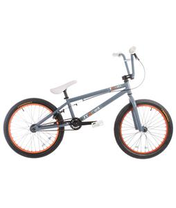 Framed Team BMX Bike Grey/Orange 20in