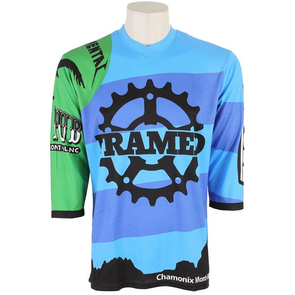 Framed Team 3/4 Bike Jersey Multi