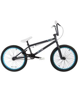 Framed Team BMX Bike Grey/Blue 20in/24.5in Top Tube