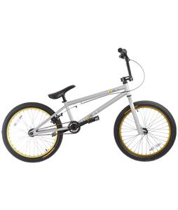 Framed Team BMX Bike Grey/Yellow 20in