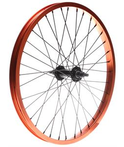 Framed Team Front BMX Wheel Orange 3/8in