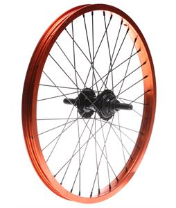 Framed Team Rear 9T BMX Wheel Orange 14mm