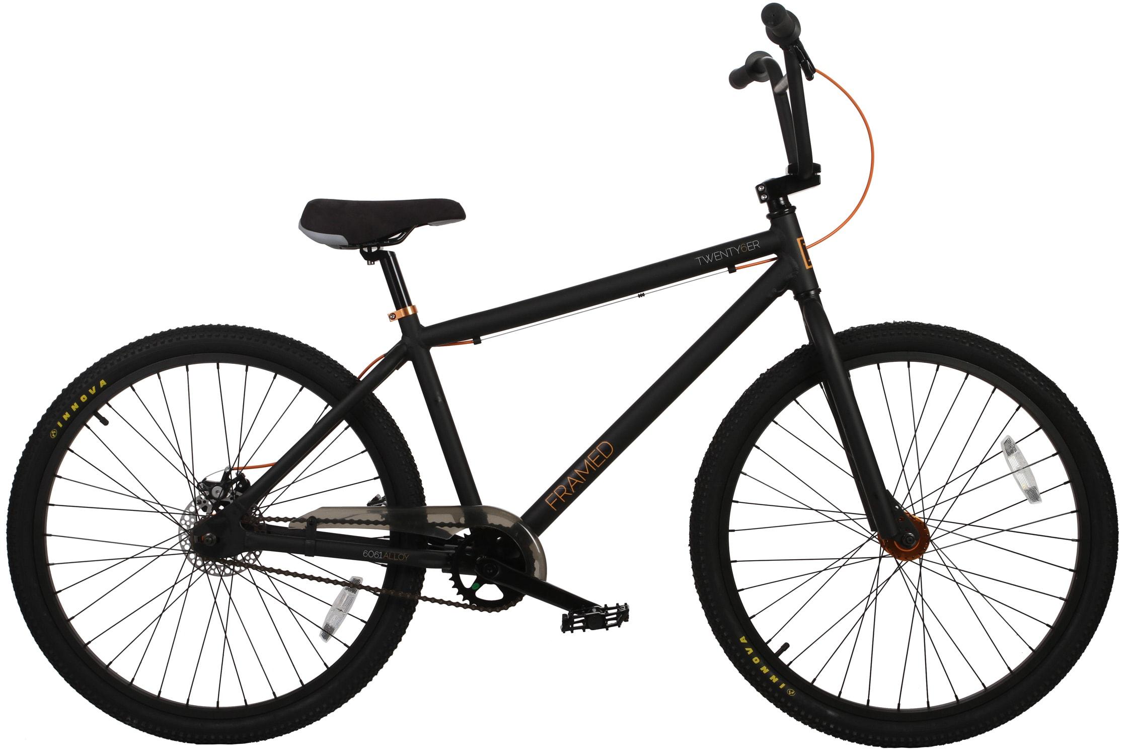 Framed Bmx Bike Parts
