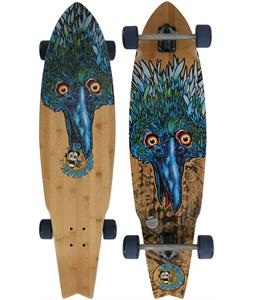 Freedom Dolly Blue Beak Longboard Deck