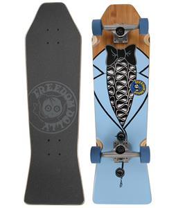 Freedom Dolly Blue Tuxedo Coffin Cruiser Skateboard