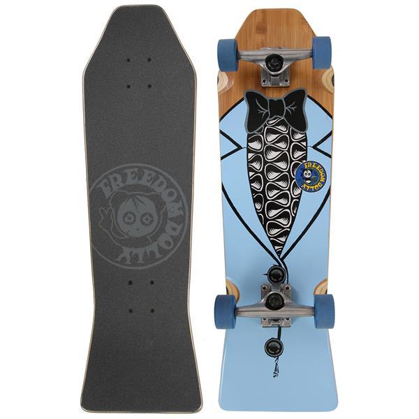 Freedom Dolly Blue Tuxedo Coffin Cruiser Skateboard