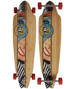 Freedom Dolly Clean Stripe Longboard Deck