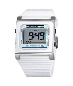 Freestyle Speed Dials LCD Watch White/Blue