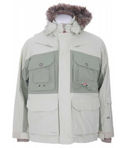 Foursquare Adams Snowboard Jacket Rejuvenate/Olivine Leaf Maze