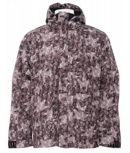 Foursquare Brady Snowboard Jacket Black Leaves