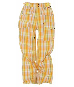 Foursquare Baraveto Snowboard Pants Sunburst Plaidern