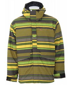 Foursquare I6 Coco Snowboard Jacket Green Polo Plus