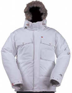 Foursquare Manfredi Snowboard Jacket White