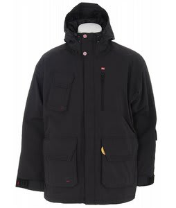 Foursquare PJ Snowboard Jacket Black