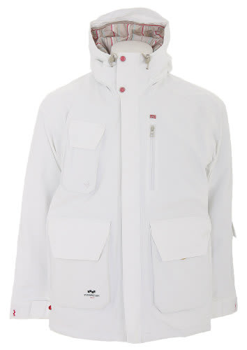Foursquare PJ Snowboard Jacket White