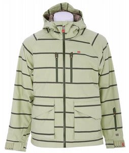 Foursquare Stevo Snowboard Jacket Rejuv Heather Stripes