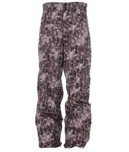 Foursquare Wong Snowboard Pants Black Leaves
