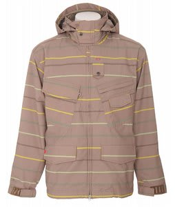 Foursquare S3 Wright Snowboard Jacket Tan A Poppin